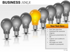 Business Process Idea PowerPoint Slides And Ppt Diagram Templates