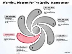 Business Process Model Diagram Management PowerPoint Templates Backgrounds For Slides
