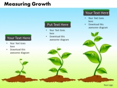 Business Process PowerPoint Templates Business Measuring Growth Ppt Slides