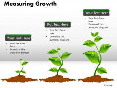 Business Process PowerPoint Templates Sales Measuring Growth Ppt Slides