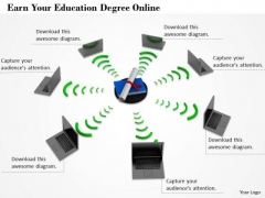 Business Process Strategy Earn Your Education Degree Online Clipart