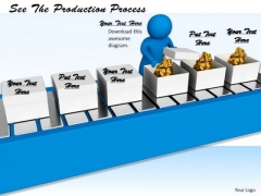 Business Process Strategy See The Production 3d Characters