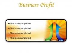 Business Profit Marketing PowerPoint Presentation Slides R