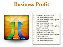 Business Profit Marketing PowerPoint Presentation Slides S