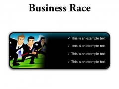 Business Race Competition PowerPoint Presentation Slides R