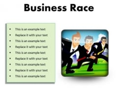 Business Race Competition PowerPoint Presentation Slides S