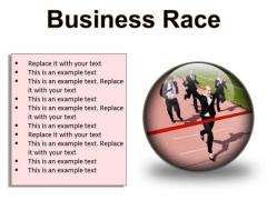 Business Race Success PowerPoint Presentation Slides C