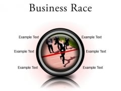 Business Race Success PowerPoint Presentation Slides Cc
