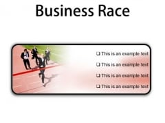 Business Race Success PowerPoint Presentation Slides R