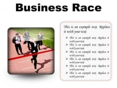 Business Race Success PowerPoint Presentation Slides S