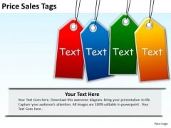 Business Sale PowerPoint Templates Business Price Sales Tags Ppt Slides