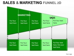 Business Sales And Marketing Funnel 2d PowerPoint Slides And Ppt Diagram Templates