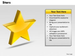 Business Signs PowerPoint Templates Success Stars Ppt Slides