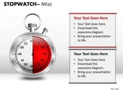 Business Stopwatch Misc PowerPoint Slides And Ppt Diagram Templates