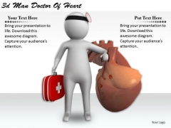 Business Strategy Consultants 3d Man Doctor Of Heart Concept