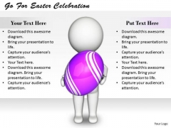 Business Strategy Consulting Go For Easter Celebration 3d Character Models