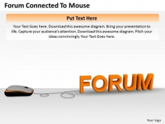 Business Strategy Development Forum Connected To Mouse Success Images