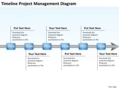 Business Strategy Diagram Timeline Project Mangement PowerPoint Slides