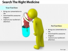 Business Strategy Examples Search The Right Medicine 3d Characters