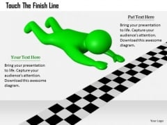 Business Strategy Examples Touch The Finish Line Basic Concepts