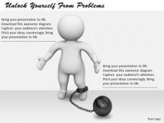 Business Strategy Examples Unlock Yourself From Problems Basic Concepts