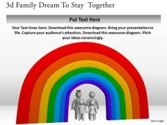 Business Strategy Formulation 3d Family Dream To Stay Together Character Models