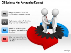 Business Strategy Formulation 3d Men Partnership Concept Character Models