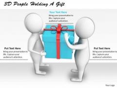 Business Strategy Formulation 3d People Holding Gift Basic Concepts