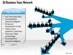 Business Strategy Formulation 3d Team Network Character Models