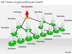 Business Strategy Formulation 3d Team Organizational Chart Character