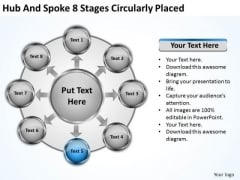 Business Strategy Formulation Spoke 8 Stages Circularly Placed Consulting