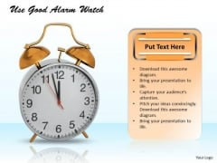 Business Strategy Model Use Good Alarm Watch Icons