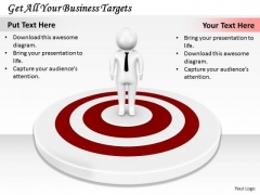 Business Strategy Plan Get All Your Targets Basic Concepts