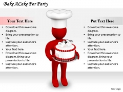 Business Strategy Planning Bake Cake For Party Concepts