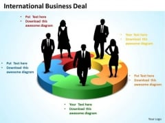 Business Success PowerPoint Templates Business International Business Deal 5 Stages Ppt Slides