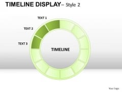 Business Timeline Display 2 PowerPoint Slides And Ppt Diagram Templates
