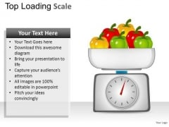 Business Top Loading Scale PowerPoint Slides And Ppt Diagram Templates