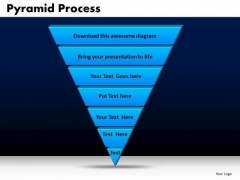 Business Triangles PowerPoint Templates Chart Pyramid Process Ppt Slides