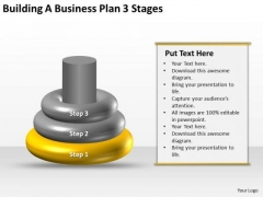 Business Use Case Diagram Example 3 Stages PowerPoint Templates Backgrounds For Slides