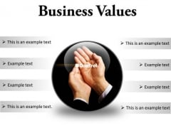 Business Values Success PowerPoint Presentation Slides C