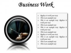Business Work Success PowerPoint Presentation Slides Cc