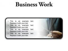 Business Work Success PowerPoint Presentation Slides R