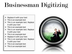 Businessman Digitizing Business PowerPoint Presentation Slides Cc