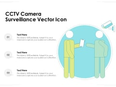CCTV Camera Surveillance Vector Icon Ppt PowerPoint Presentation Ideas Layout PDF