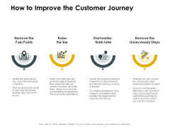 CDJ How To Improve The Customer Journey Ppt Show Designs Download PDF