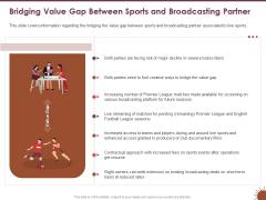 COVID 19 Effect Risk Management Strategies Sports Bridging Value Gap Between Sports Broadcasting Partner Elements PDF