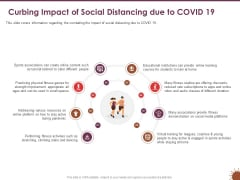 COVID 19 Effect Risk Management Strategies Sports Curbing Impact Social Distancing Due COVID 19 Formats PDF