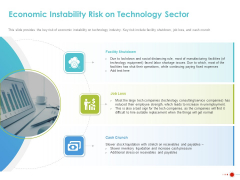 COVID 19 Mitigating Impact On High Tech Industry Economic Instability Risk On Technology Sector Structure PDF