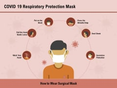 COVID 19 Pandemic Disease Covid 19 Respiratory Protection Mask Template PDF