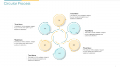 COVID Business Survive Adapt And Post Recovery For Tech Industry Circular Process Ppt Professional Summary PDF